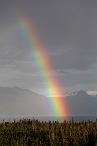 Rainbow Over Juneau AK