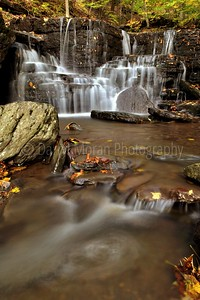 Autumn Waterfalls in the Pennsylvania Grand Canyon