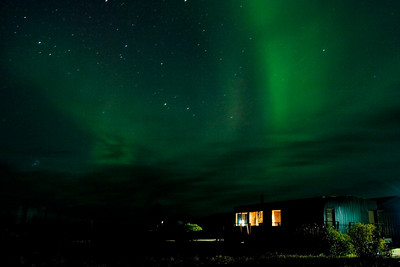 Northern Lights Over Nanuk Polar Bear Lodge