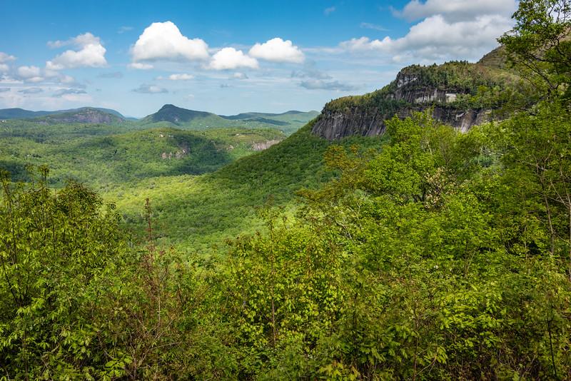 Whiteside Mountain.