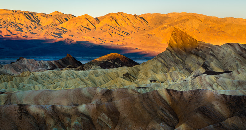 Sunrise at Zabriskie Point - Death Valley-1600