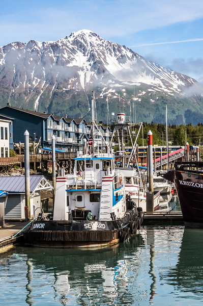 Mountains and Boats