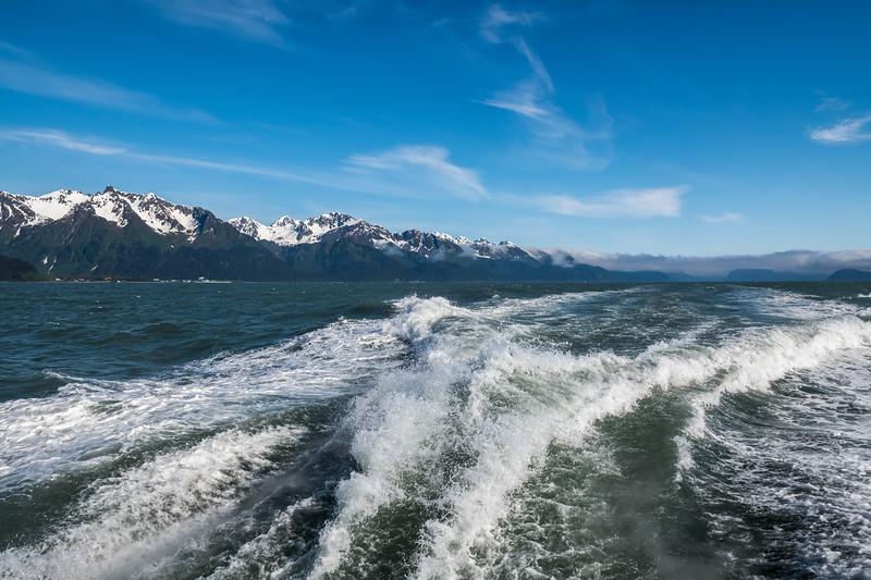 Boat Wake Alaska