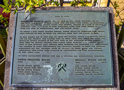 Walsh Family Plaque