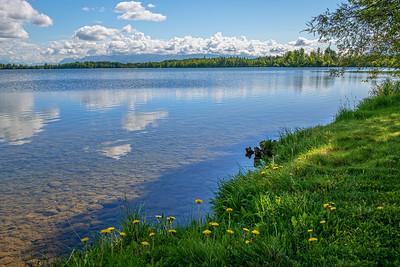 Clear Wasilla Lake