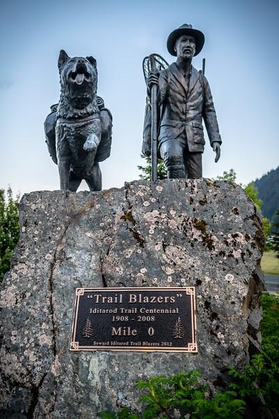 Trail Blazers Monument