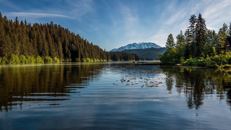 Morning Light on Lake