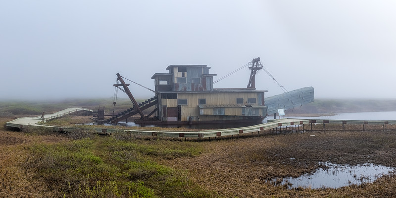 Gold Dredge Panorama