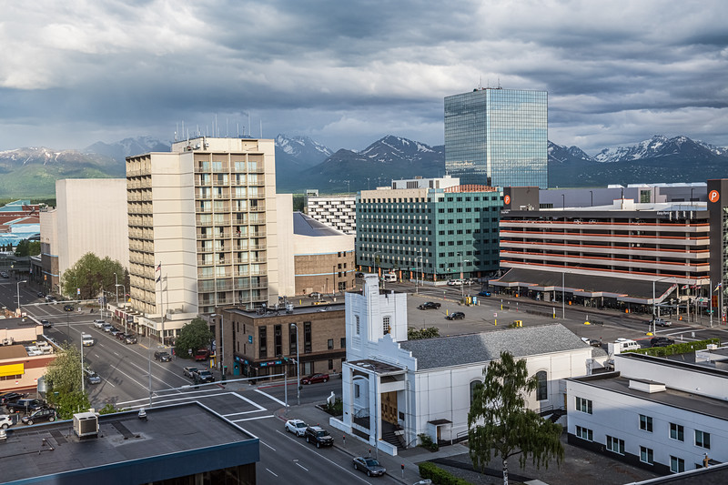 Anchorage City View