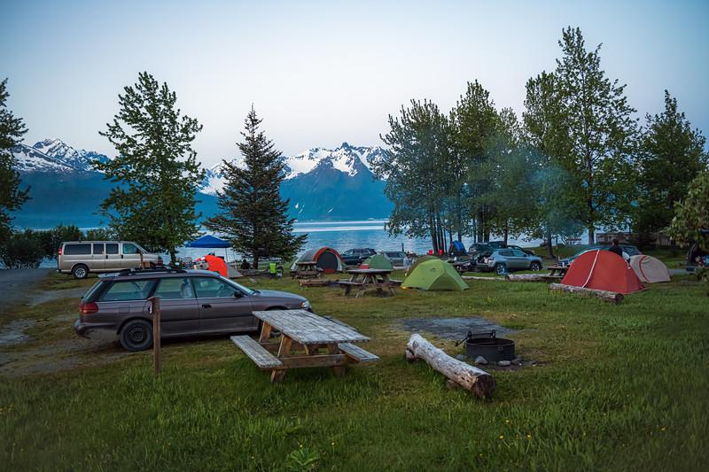 Bayside Camping Seward