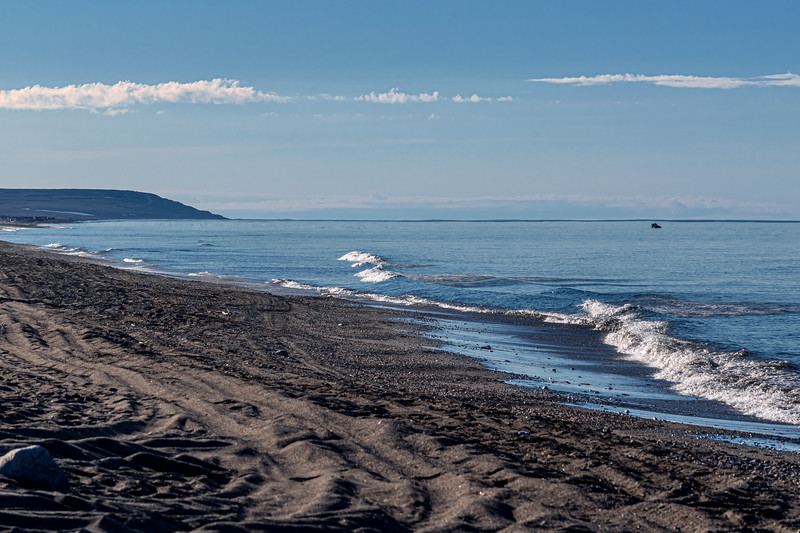 Dark Sand Bering Sea