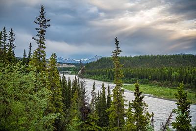 Nenana River View