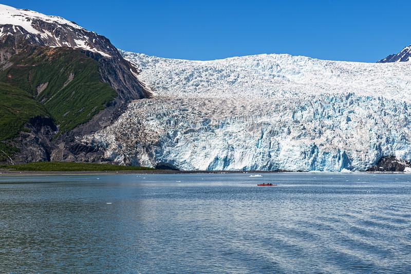 Close to the Glacier