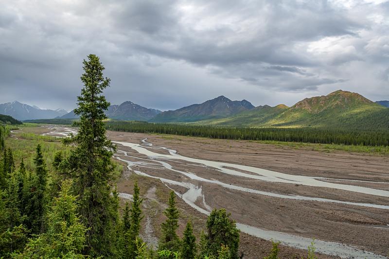 Low Alaska Riverbed