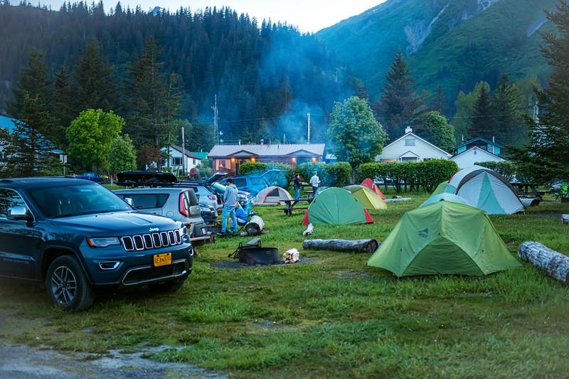 Neighborhood Camping