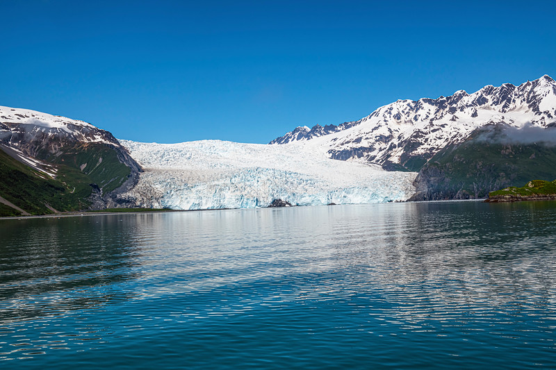 Blue Sky and Glacier