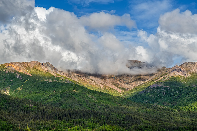 Low Clouds and Mountaintops