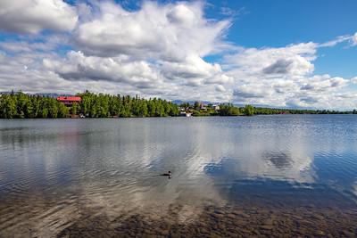 Scenic Wasilla Lake