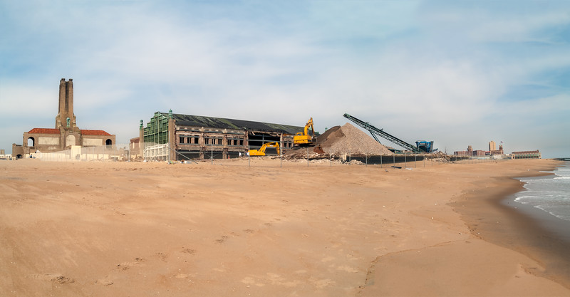 Construction on the Beach