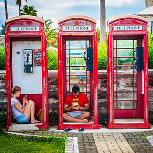 Telephone Booths Bermuda
