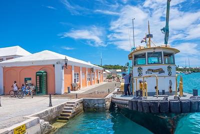 Boat St. George's Bermuda