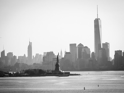 Lower Manhattan Black and White