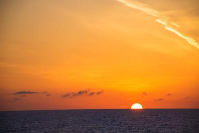 Sun Sinking Down