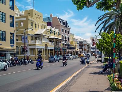 Scooters in Bermuda