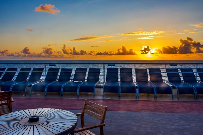 Sunrise On Deck