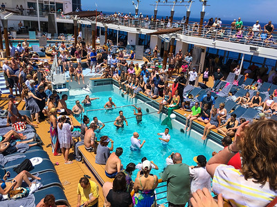 Cruise Ship Volleyball