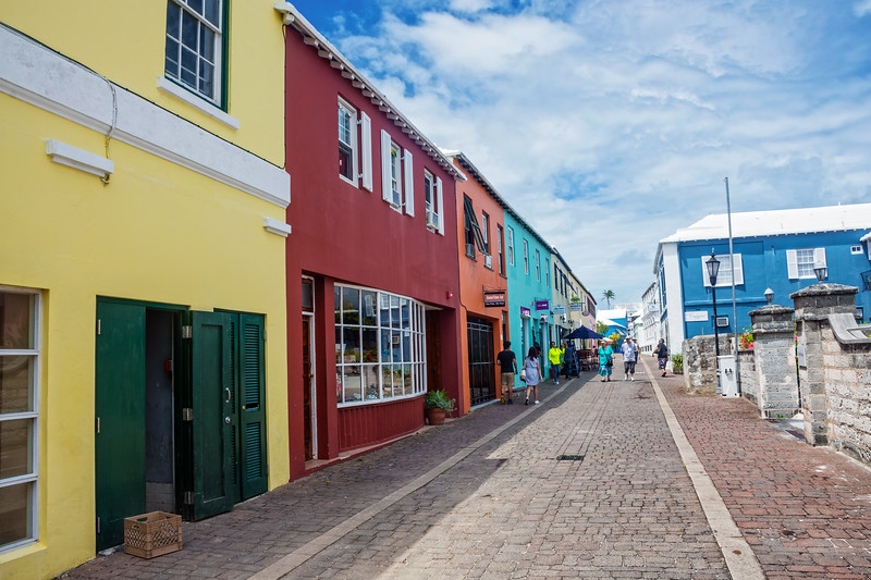 Colorful Shops St George's