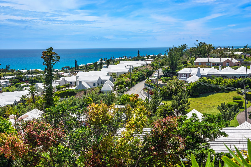 White Roofs of Bermuda
