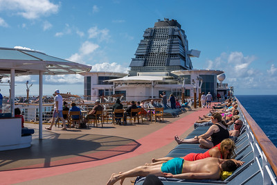 Relaxing Aboard Celebrity Summit