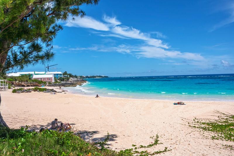 Quiet Bermuda Beach