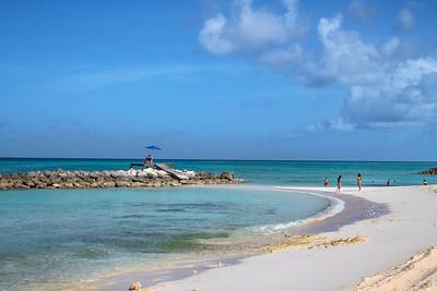 Quiet Bahama Beach