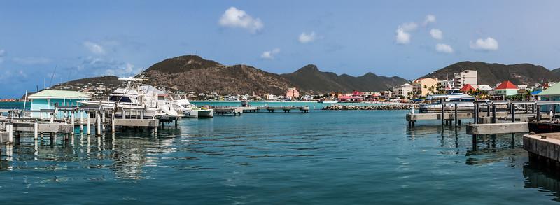 St Maarten Marina Panorama