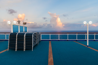 Morning Deck and Sky