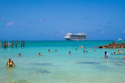 Cruise Ship Island Fun