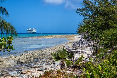 Isolated Beach Princess Cays