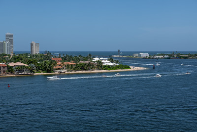 View From Port Everglades