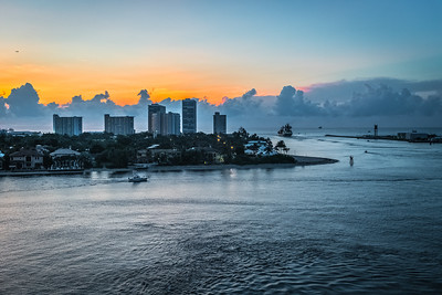 Port Before Sunrise