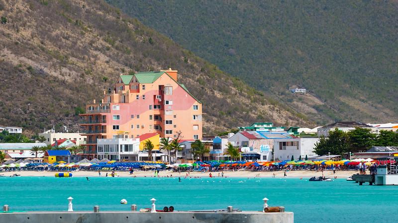 Colorful St Maarten