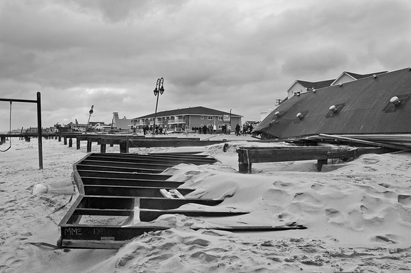Damaged Boardwalk Belmar
