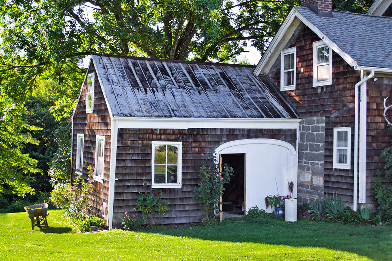 """""""Country Home""""<br /> A picturesque home on a bright Summer afternoon in northern New Jersey."""