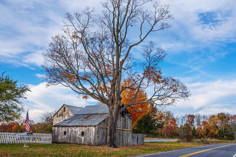 Roadside Rural Barn