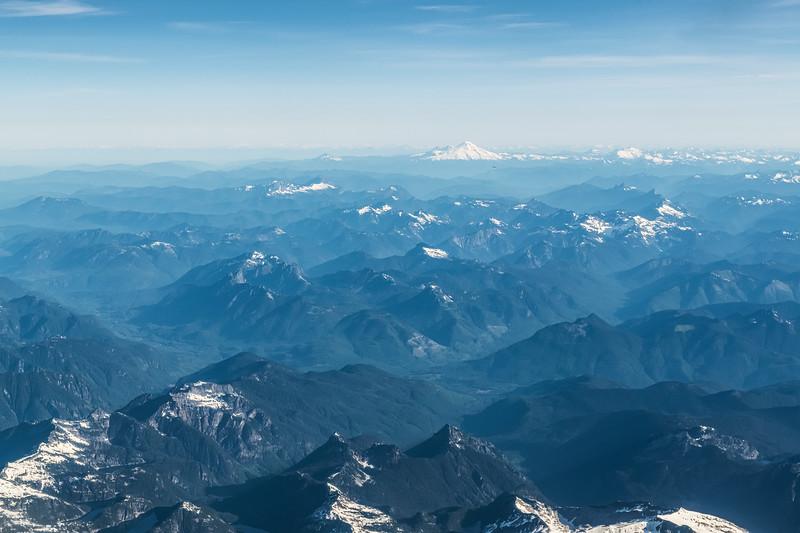 Mountains and Rainier
