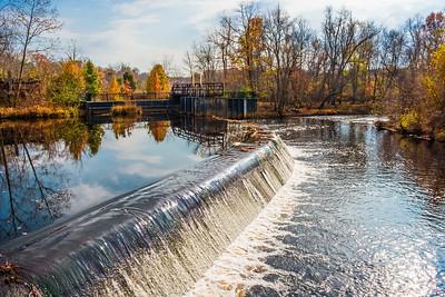 Waterfall and Dam
