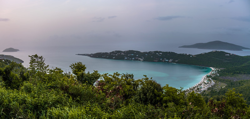 Honeymoon Beach Panorama