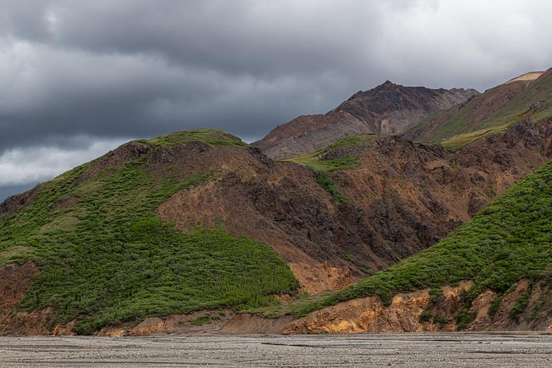 Hilly Terrain Alaska
