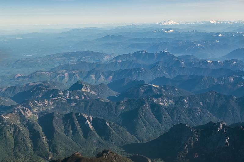 Distant View Mt Rainier